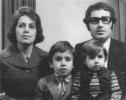 Tülin-Bahadır-Banu-Şükrü Kaleağası 1973